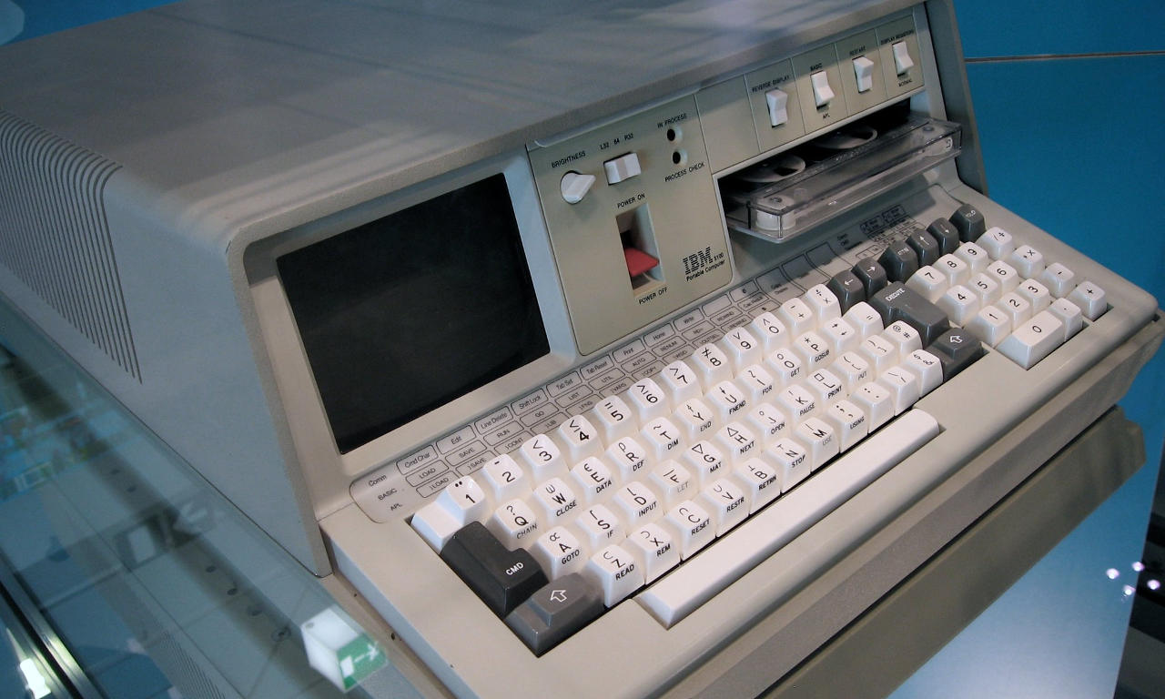 The IBM 5100 personal computer