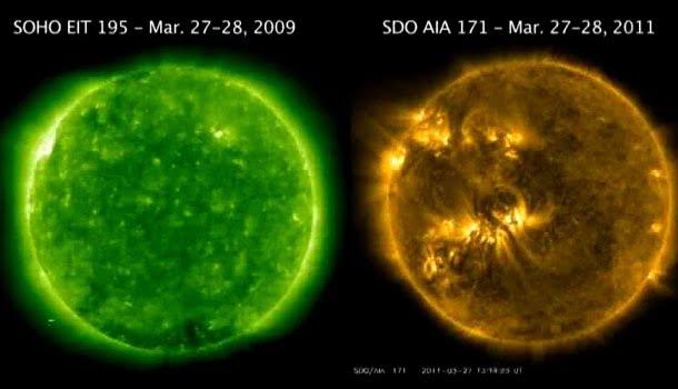 Solar Activity 2011