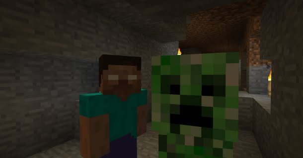 Herobrine And Creeper, Friends Forever