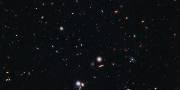 Hubble Captures Farthest Protocluster Of Galaxies Ever Seen