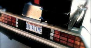 The Time Machine DeLorean