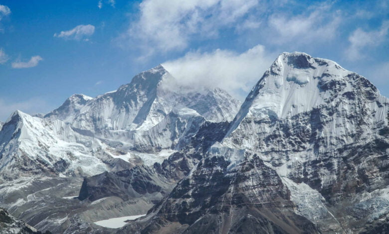 Views on the descent of the Himalayas