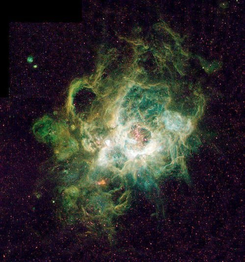 Nebula NGC 604 (Image courtesy NASA)