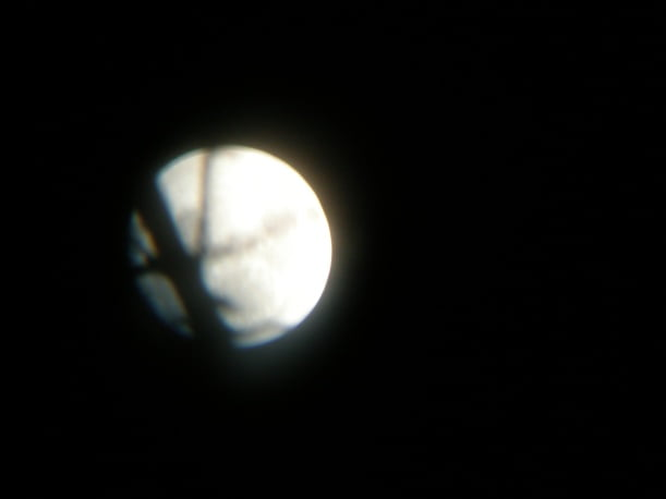 Just The Moon