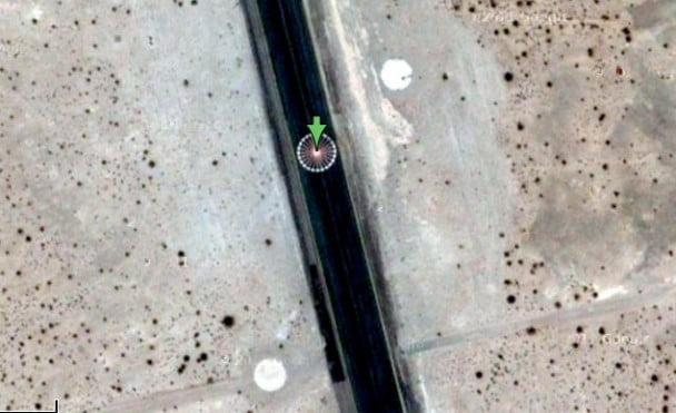 Strange Object On Google Maps