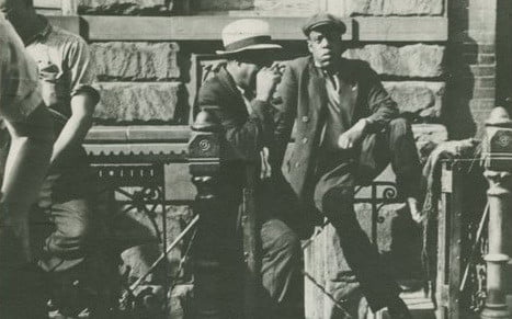 Someone who looks very much like Jay-Z hangs out in 1939