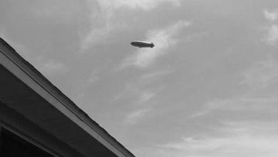 Photo of Glowing Object Reported Over Worcestershire, Later Identified