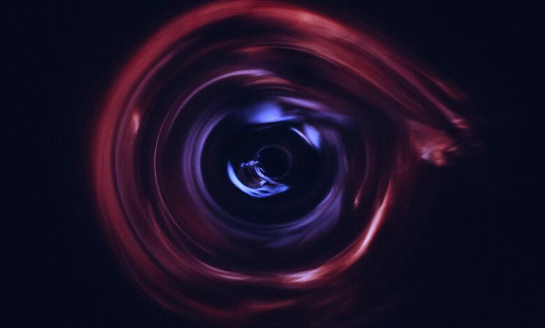 A wormhole?