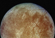 Photo of Europa Likely Has More Water Than Earth