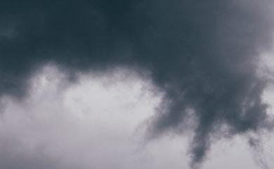 A grey cloud
