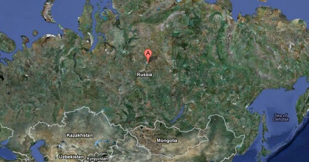 Location Of Tunguska Incident