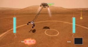 Mars Rover Landing Game