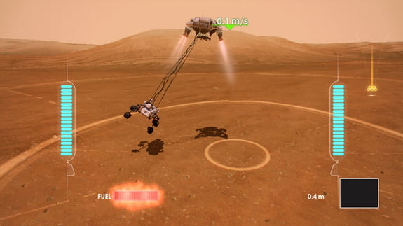 NASA's Curiosity Rover Lands On Xbox Live
