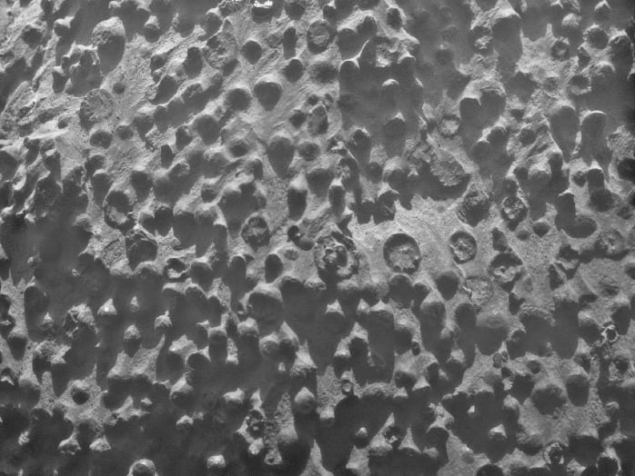 Mysterious Rock Formation On Mars