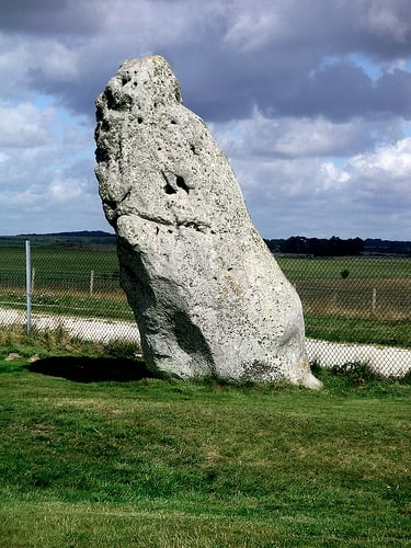 The Heelstone At Stonehenge