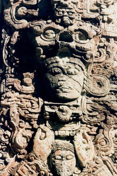 A Mayan Sculpture