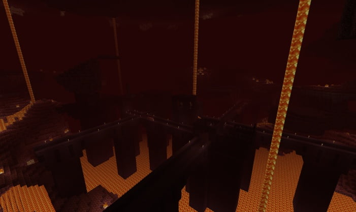Minecraft Nether Fortress