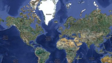 Photo of Google Maps Anomalies: The Poles