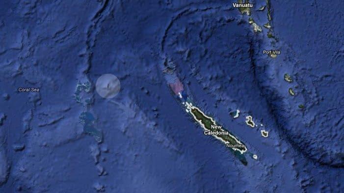 Lost Island On Google Maps