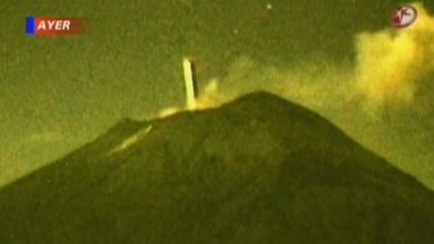 Photo of A UFO Returns To Its Secret Volcano Base