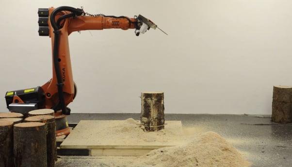 Chainsaw Robot Returns