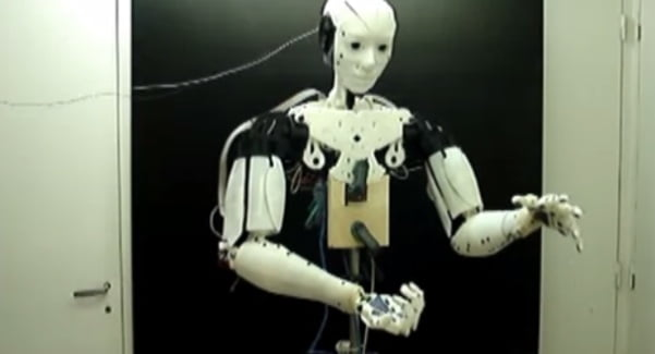 InMoov, the 3D-printed robot