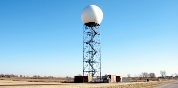 Lincoln Doppler Radar Anomaly