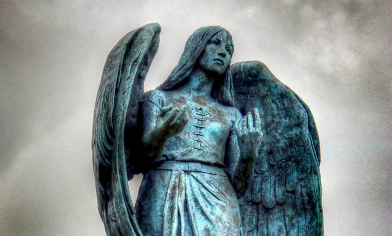 Cobh (Ireland) statue