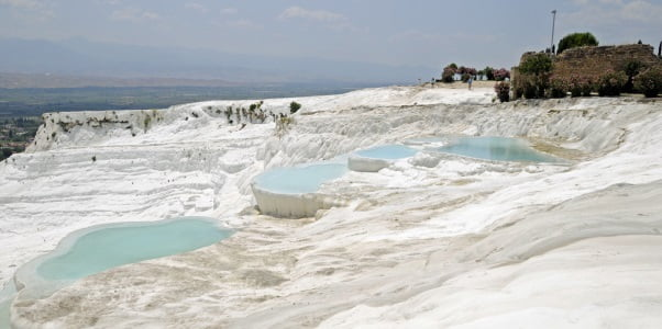 Terraced Pools Of Pamukkale