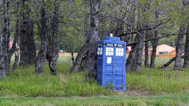 "Doctor Who - ""TARDIS sighting"""