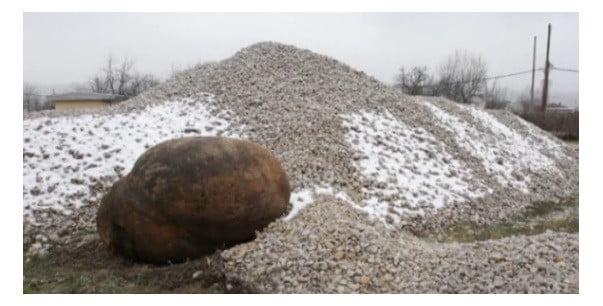 A Strange Rock In Bosnia