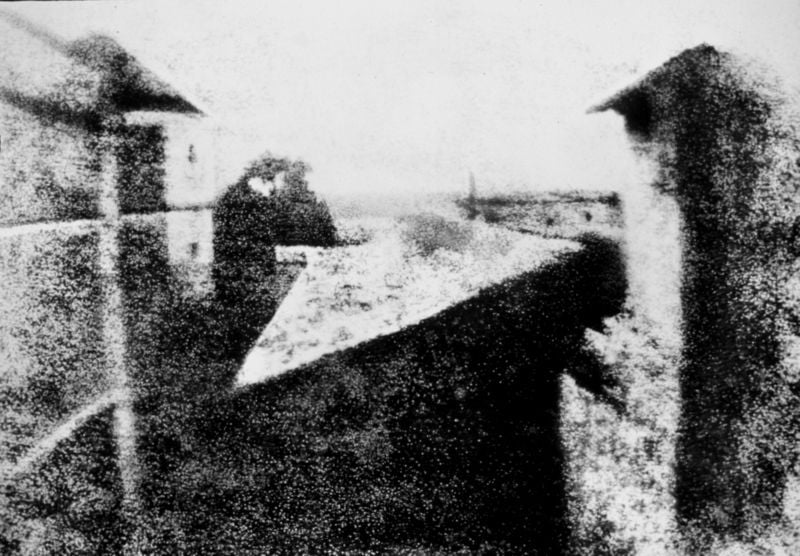 The Earliest Surviving Photograph And The Earliest Known
