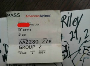 The Plane Ticket