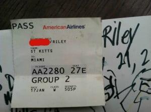 The Plane Ticket