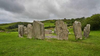The Drombeg Stone Circle of Ireland