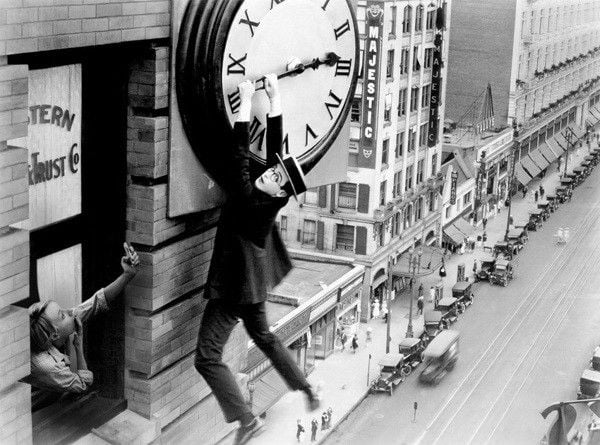 Time travel with Harold Lloyd