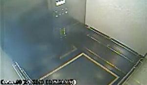 Closed Elevator Door