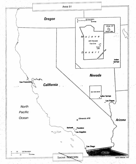 Area 51 CIA Documents