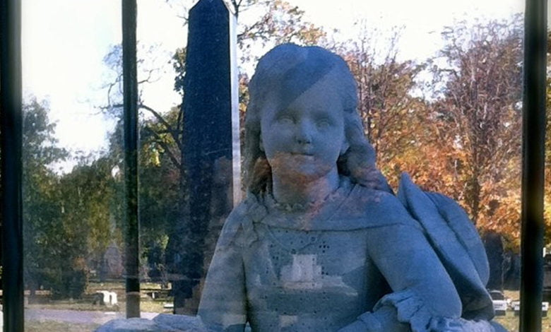The statue of Inez Clarke