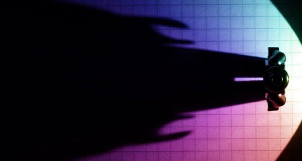 A shadow cast by an alien...