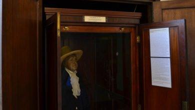 Photo of Jeremy Bentham's Auto-Icon