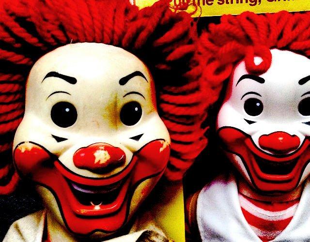 A Creepy Ronald McDonald Doll