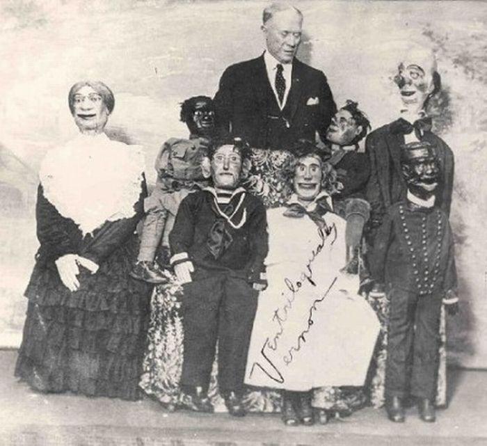 A Creepy Doll Family