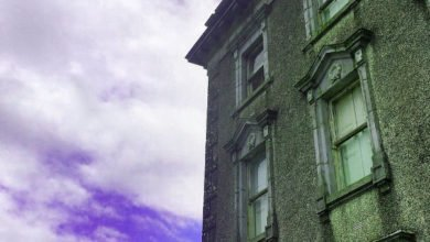 "Photo of ""Ghost"" Photographed at Haunted Loftus Hall"