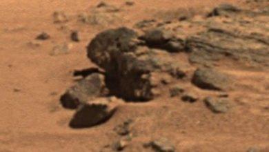 Photo of President Obama's Face Appears on Mars