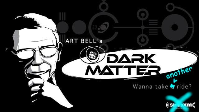 The Art Bell Dark Matter logo