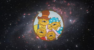 Image: ESO via CC by 2.0 and The Berenstain Bears