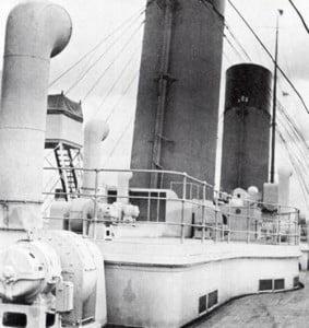 Titanic's Fake Funnel