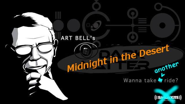 logo for Art Bell's Midnight in the Desert