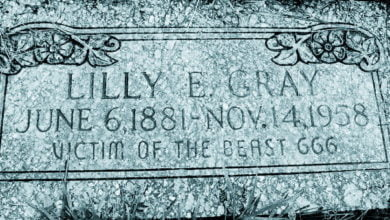 Photo of Lilly E. Gray: Victim of the Beast